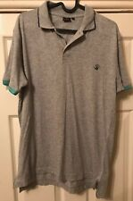 Mens Paul Smith PS Grey 100% Cotton Short Sleeve Polo Shirt MEDIUM / LARGE, VGC