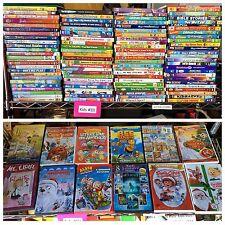KIDS MOVIE & TV SHOWS! 100 WHOLESALE LOT! BULK COLLECTION DISNEY, PIXAR, & MORE!