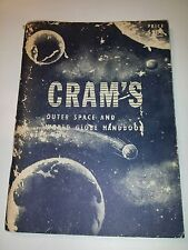 Cram's Outer Space and World Globe Handbook – Soft Cover 1962  B2