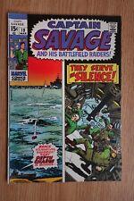 Marvel Captain Savage and his Battlefield Raiders #19 (Mar,1969)