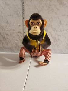 Vintage Musical Jolly Chimp Monkey Battery Operated C. K. Toy Company