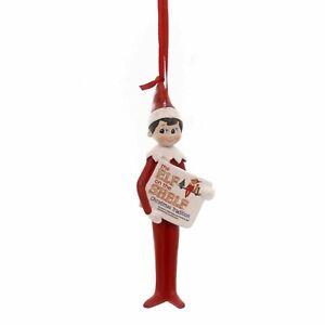 Dept 56 Elf On The Shelf Reading Ornament 4051638