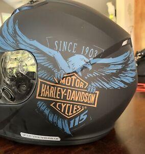 Harley Davidson 115th Anniversary H28 Full-Face Helmet Matte Black Size XXLARGE