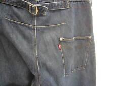 vtg Levi's Engineered Jeans medium wash Twist denim cinch buckle back sz 33x32