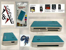 Kartenleser Kartenlesegerät SD,TF,CF,XD,MS Card Reader Kartenadapter USB 2.0 #BL