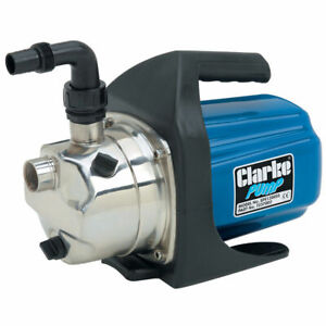 """CLARKE SPE1200SS Electric Water Pump 1"""" output elbow 230V 61 L/Min 1ph motor"""