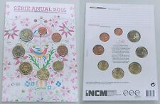 Euro KMS Portugal 2015 im Blister FDC st