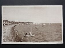 Essex: Leigh on Sea THE BEACH - Old Postcard by Raphael Tuck & Sons LS 16