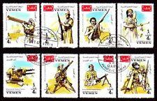 Yemen 1967 used c.t.o Mi.266/73 A Patriotischer Krieg Patriotic War Soldaten