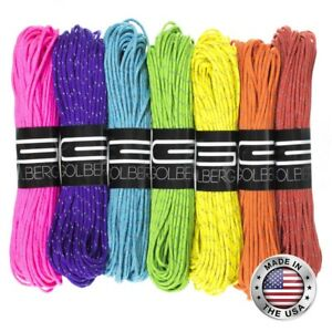 GOLBERG 1.8 mm Fluorescent Reflective 95 lbs Paracord – 1.8 mm Cord in 20 Meters