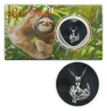 Love Pearl SLOTH Necklace Kit, Simulated Pearl in an Oyster