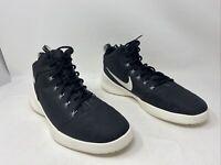 Nike Mens Hyperfre3sh Basketball Shoe Black/White/Grey Size 12M US