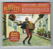 MICHÈLE BUIRETTE - SWING PASSIONS - CD 12 TITRES - 2016 - NEUF NEW NEU