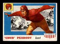 1955 Topps #72 Chub Peabody RC VG/VGEX X1551817