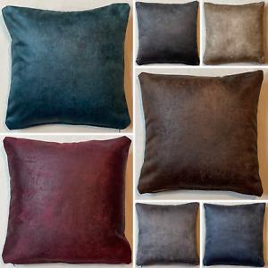 Handmade Rustique Velvet Cushion Cover Soft Feel Pillow Case Home Sofa Bed Decor