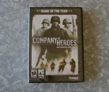 "COMPANY OF HEROES ""Game of The Year"" PC Game 2006 THQ New/Sealed NIB"