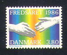Denmark 1986 International Peace Year/Hands/Rainbow 1v (n34539)
