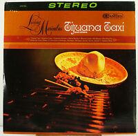 "12"" 33 RPM STEREO LP - RCA CAMDEN CAS-961 - LIVING MARIMBAS  TIJUANA TAXI (1966)"
