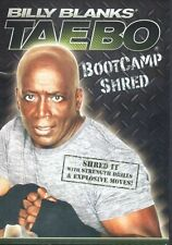 Billy Blanks Tae Bo EXERCISE DVD - Tae Bo BOOTCAMP SHRED!