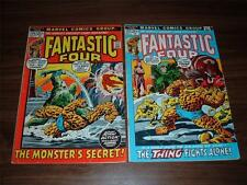Fantastic Four 125-220----lot of 45 comic books