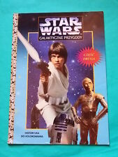►►old Polish Star Wars Colouring Story Book Return of the Jedi Mark Hamill