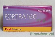 5 rolls KODAK PORTRA 160 120 Professional Color Negative Film FREESHIP