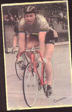 Michel Rousseau Cyclisme 60s Cycling Ciclismo carte L'EQUIPE Tour de France vélo