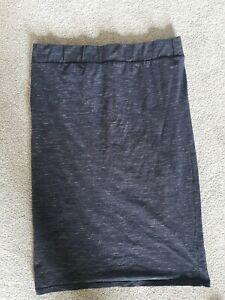 Topshop MATERNITY under bump Pencil Skirt Size 12