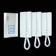 Türsprechanlage für 3-Familienhaus IB63 SW Smartwares Gegensprechanlage Klingel