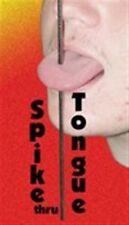 Metal Spike Through Tongue Geek Gag Joke Magic Trick Prank Thru Skewer Rod Nail