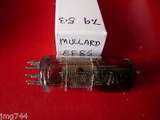 Ef85 Mullard Amarillo impreso utilizado, stock viejo, válvula de tubo de 1 pieza J15