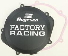 Boyesen Factory Racing Clutch Cover Black Honda CRF250R 2004-2009 CC-07B