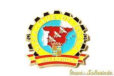 "Metall-Plakette ""Vespa Club de Mallorca"" - Spanien Spain Espana Emblem Email V50"