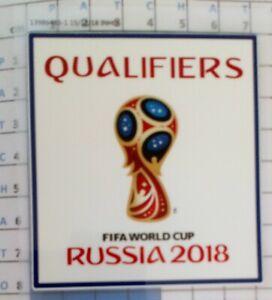 Coupe du Monde 2018 Qualifiers Patch Badge maillot foot France Belgique Brésil