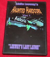 EDDIE Leeway Live CONCIERTO Haunted Hardcore DVD NYC HARDCORE PUNK RARO