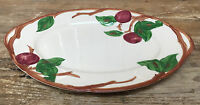 "Oval Serving Platter 12"" Piece Franciscan Apple Interpace USA 24677 American"
