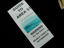 #A-50 Guide to Area 51 topographical map UFO Alien info Groom Secret Facility