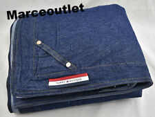 Tommy Hilfiger Denim Full / Queen Duvet Cover Navy Blue