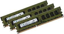 4x 4gb 16gb ddr3 1333mhz ECC asus servidor placa p6t WS pc3-10600e RAM