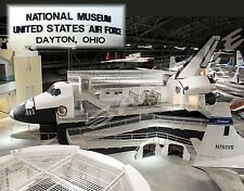 Ohio - Dayton Air Force Museum - SPACE SHUTTLE CREW COMPARTMENT TRAINER - magnet