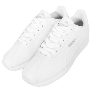 Puma Turin White Out Mens Running Shoes Sneakers Trainers Runner 360116-05
