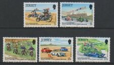 Jersey - 1980, Moteur Cycle & Voiture Club Ensemble - MNH - Sg 233/7