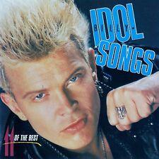 BILLY IDOL : IDOL SONGS - 11 OF THE BEST / CD