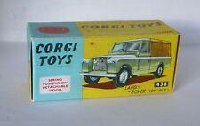 Repro box CORGI Nº 438 land rover