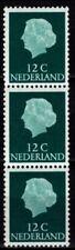 Nederland Juliana en profil rolzegel 3-strip 618Re 12N1F B2 - cat waarde € 45