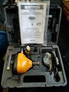Bostitch High-Speed Air Impact Nailer Kit PN100 w/ Case & Manual