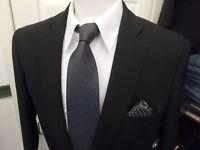 Cavani Black Suit 2 & 3 Piece perfect for Party or Business