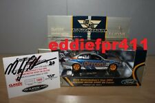 1/43 SIGNED 2004 FORD BA FALCON MARK WINTERBOTTOM LMS LARKHAM ORRCON RACING