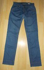 "Ladies Designer MISS SIXTY Blue Denim Straight Cut Jeans - Size 27 (Waist 29"")"