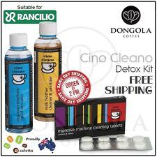 RANCILIO Espresso Coffee Machine Cleaner Descaler Milk Frother Cleaning Detox